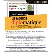 Suscripción Le Monde diplomatique, edición Colombia