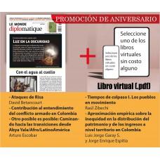 A. PROMOCIÓN ANIVERSARIO Suscripción Le Monde diplomatique, edición Colombia + libro virtual